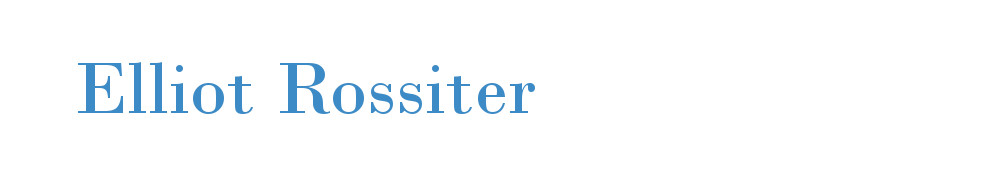 Elliot Rossiter